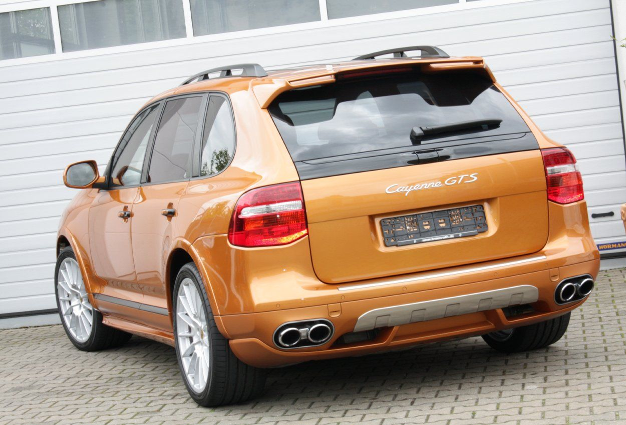 Super cars news porsche cayenne gts nordic gold - Super sayenne ...